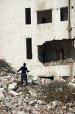 Demolizione in città cinese Fotografie Stock Libere da Diritti
