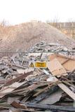 Demolizione di costruzione Immagini Stock