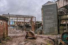 Demolizione industriale Fotografia Stock Libera da Diritti