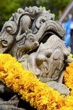 demon świątyni Bangkok Asia kamienia wojownika potwór Fotografia Stock