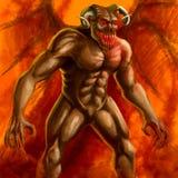 demon Immagini Stock
