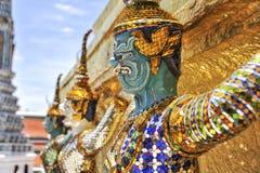 Demon av Wat Phrakaew Grand Palace Bangkok Royaltyfri Fotografi