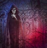 Demon of darkness. Photomanipulation concept. vector illustration