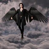 Demon in de hemel stock illustratie
