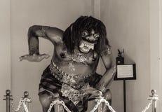 Demon. A demonic statue in the GWK exhibit in Bali, Indonesia Stock Image