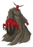 Demon or devil figure Stock Photos