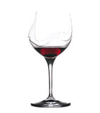 Demon drink red wine in glass Royalty Free Stock Image