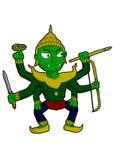Demon för Ravana jättejättar Royaltyfri Foto