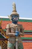 Demon Figure in Wat Phra Kaeo Royalty Free Stock Images