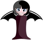 Demon girl cartoon insolated royalty free stock photos