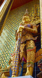 Demon on guard, wat phra kaew, bangkok, thailand Stock Photo