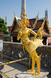 Demon guardian in Wat Phra Kaeo Stock Images