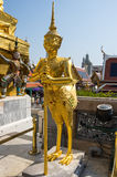 Demon guardian in Wat Phra Kaeo Stock Photos