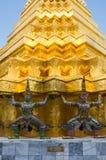 Demon guardian in Wat Phra Kaeo Royalty Free Stock Photo