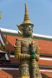 Demon guardian in Wat Phra Kaeo Royalty Free Stock Image