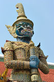 Demon Guardian Wat Phra Kaew Royalty Free Stock Photos