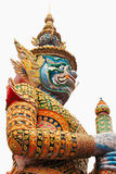 Demon Guardian Wat Phra Kaew Grand Palace Bangkok Royalty Free Stock Photo