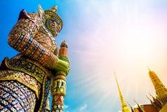 Demon Guardian. Wat Phra Kaew Grand Palace Bangkok Stock Image