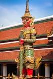 Demon Guardian Wat Phra Kaew Grand Palace Bangkok Stock Photos