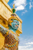 Demon Guardian Wat Phra Kaew Grand Palace Bangkok Royalty Free Stock Photo