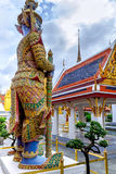 Demon Guardian in Wat Phra Kaew Grand Palace  Bangkok, Thailand Royalty Free Stock Photography