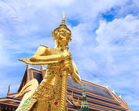 Demon Guardian at Wat Phra Kaew Royalty Free Stock Images