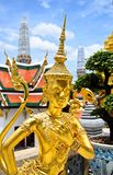 Demon Guardian at Wat Phra Kaew, Temple Royalty Free Stock Photography