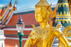Demon Guardian at Wat Phra Kaew - the Temple of Emerald Buddha in Bangkok Royalty Free Stock Images
