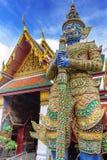 Demon Guardian at Wat Phra Kaew, Temple of the Emerald Buddha, Bangkok, Thailand. Stock Images