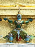 Demon Guardian, Wat Phra Keaw, Bangkok, Thailand Stock Photography