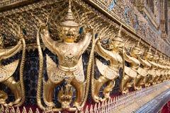 Demon guardians at the Grand Palace, Bangkok Stock Photo