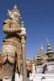Demon guarding Emerald Buddha Royalty Free Stock Photo