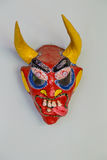 Demon handmade mask from Republica Dominicana Royalty Free Stock Images