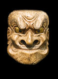 Demon mask. (Japanese Noh Theater Royalty Free Stock Photos