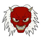 Demon mask Stock Photography