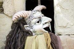 Demon masks Stock Photo