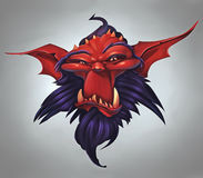 Demon Portrait Royalty Free Stock Image
