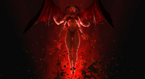 Demon queen Stock Photo