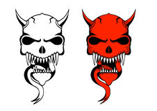 Demon skulls Royalty Free Stock Photos