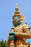 Demon statua Obraz Royalty Free