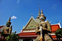 Demon statua Wat Arun Zdjęcie Stock