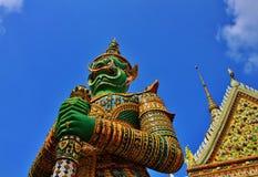 Demon statua Wat Arun Fotografia Stock