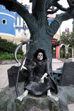 Demon statue Stock Photo
