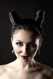 Demon-tempter Royalty Free Stock Photo