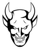 Demon twarz Obrazy Royalty Free
