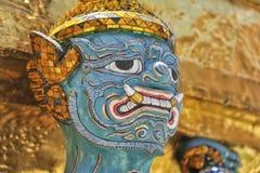 Demon van Wat Phrakaew Grand Palace Bangkok Royalty-vrije Stock Foto's