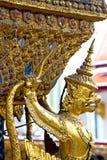 Demon w świątynnych Bangkok Asia wata złocistych pałac Obraz Stock