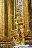 demon w świątynnym Bangkok Asia wata pałac złocistym potworze Zdjęcia Royalty Free