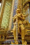 demon w świątynnym Bangkok wojownik Zdjęcia Royalty Free