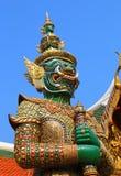 Demon w Wacie Phra Kaew w Bangkok Fotografia Royalty Free